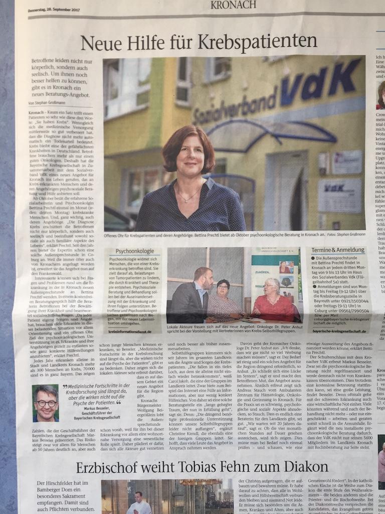 Neue Presse Kronach